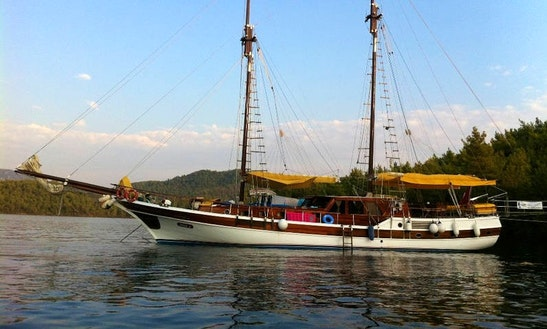 'ipek A' Traditional Turkish Gulet Charter In Marmaris
