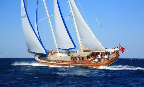 'kaya Guneri 3' Turkish Gulet Charter In Bodrum