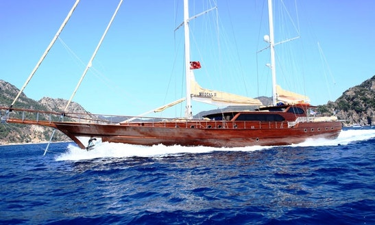 'mezcal 2' Turkish Gulet Charter In Marmaris