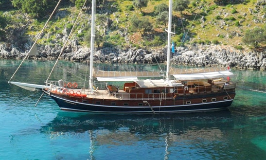 'kubilay Sezen' Turkish Gulet Charter In Marmaris