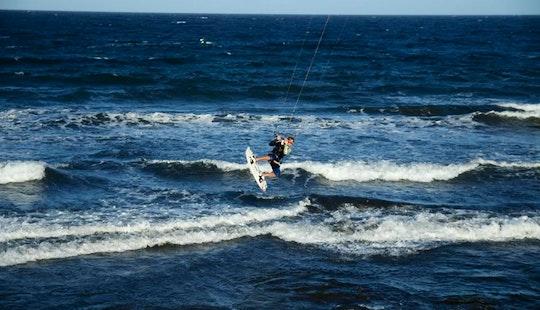 Kiteboarding In El Medano, Spain