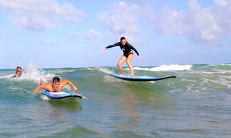 Surfing Lesson in Luquillo