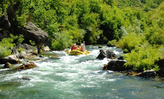 White Water Rafting In River Cetina, Split
