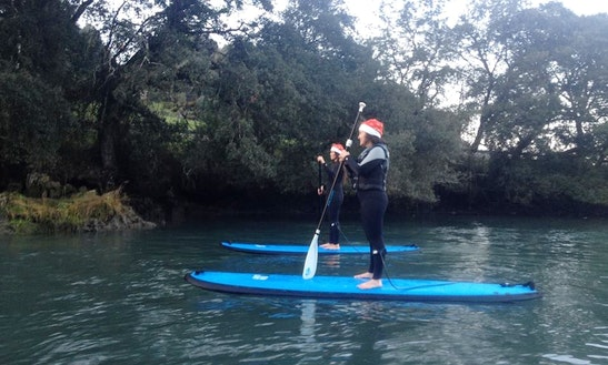 Stand Up Paddle Lesson & Hire In Póo