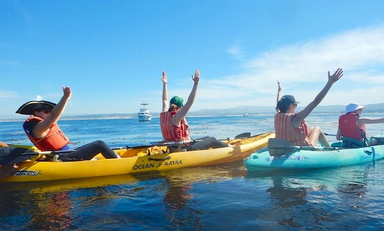 Double Kayak Rental In Monterey