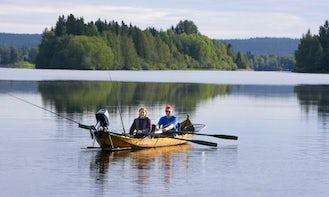 Fishing Trip By Boat In Rovaniemi