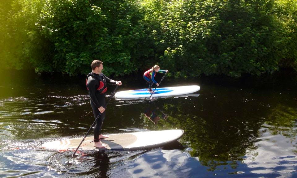 Stand Up Paddleboarding In Killaloe