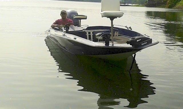 18' Hydra Sport Bass Boat Fishing Trip in Caliraya, Quezon Province!