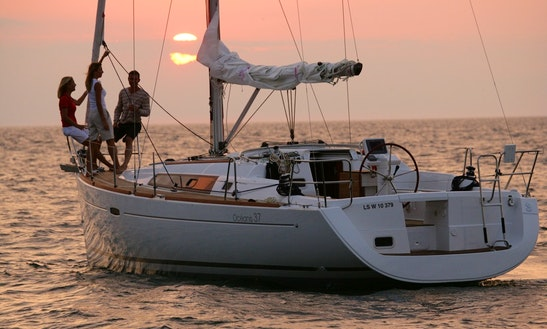 Charter 37' Beneteau Oceanis Sailing Yacht In Rossaveal Harbour, Ireland