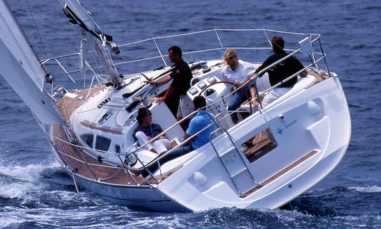 Charter 35' Jeanneau Sun Odyssey Cruising Monohull In Rossaveal Harbour, Ireland