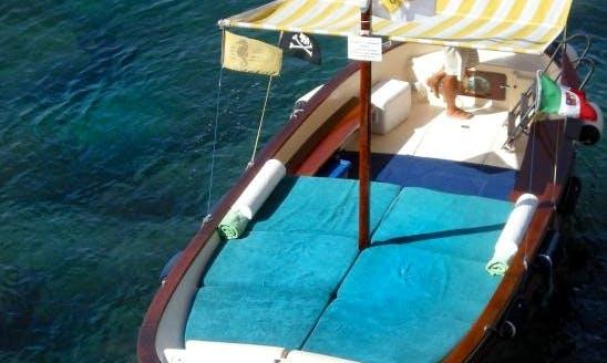 23' Gozo Sailboat in Capri, Italy