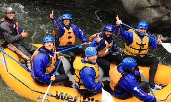Rafting In White Salmon