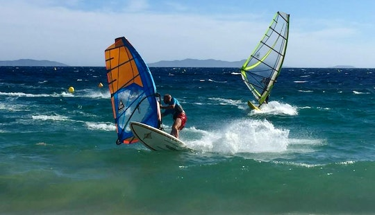 Learn Windsurfing With The Experts In Le Lavandou, France
