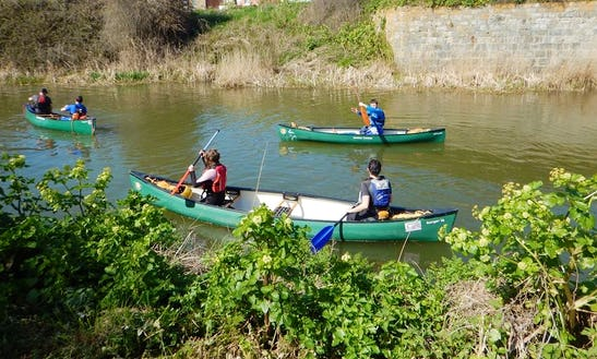 Canoe Lessons And Tour In Hythe