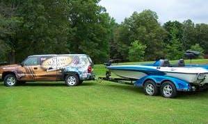 Ranger 520VX Bass Boat Fishing Charter in Evergreen