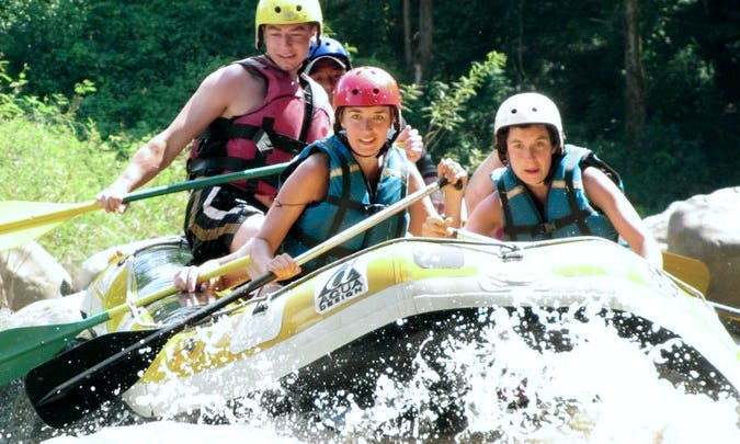 Rafting Trips in Pai, Thailand