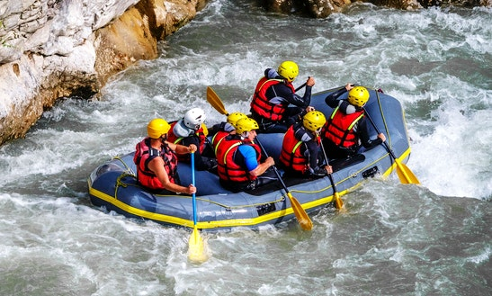 White Water Rafting In Castellane