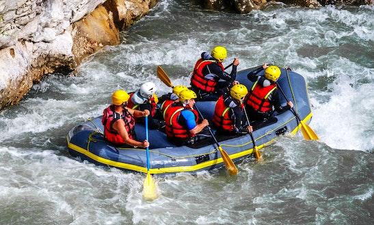White Water Rafting In Castellane