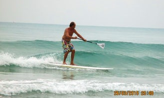 Paddleboard Rental and Surf Lessons in Ban Nam Khem, Phang Nga, Thailand