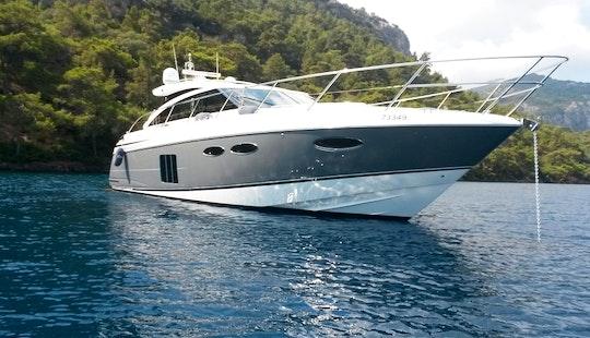 Princess V52 Yacht Charter