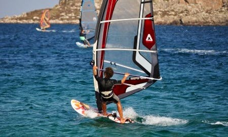 Windsurfing in Quinta, Portugal