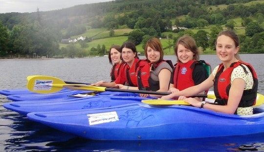 Kayaking Lessons In Coniston