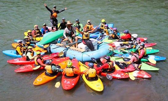 Kayak In White Salmon
