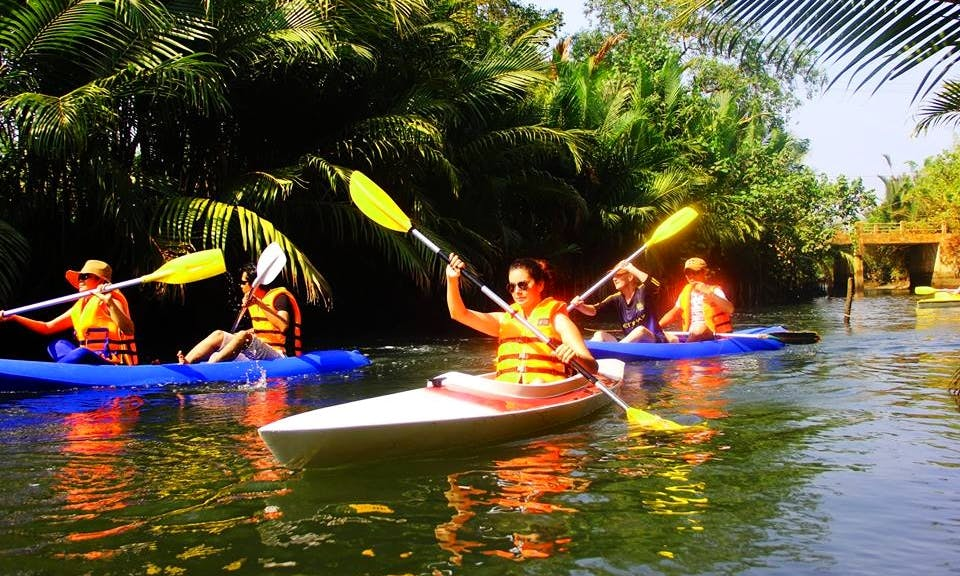 Double Kayak Trips in Kep City, Combodia