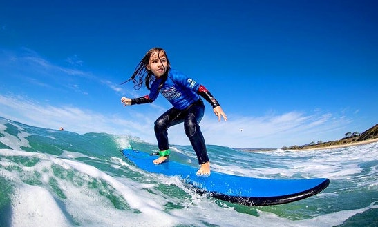 Surfing In Avoca Beach - Australia