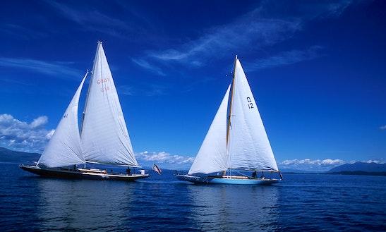 51ft Sloop Boat Rental In Bigfork, Montana
