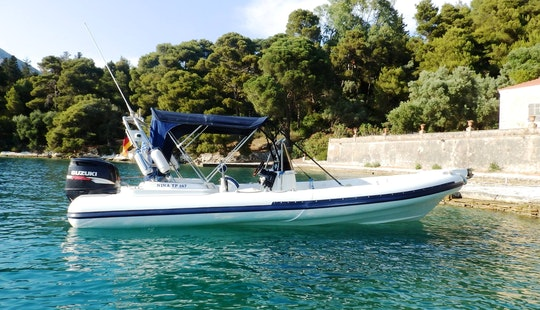 Winner 7.40 Rib Rental In Lefkada, Greece For 8 People For Your Next Boating Adventure
