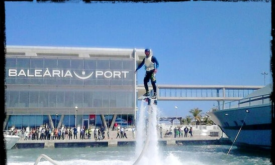 Flyboarding In Dénia