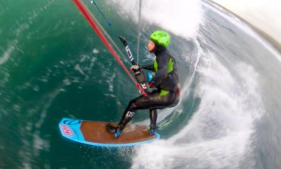 Kiteboarding Lesson In Kerry Ireland