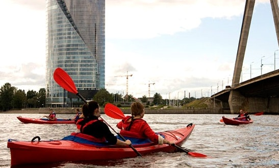 Kayak Trip In Riga