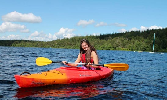 Kayak Hire In Glenmore Forest Park, Ph22 1 Aviemore