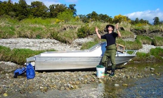 Jon Boat Fishing Charter In Wanaka