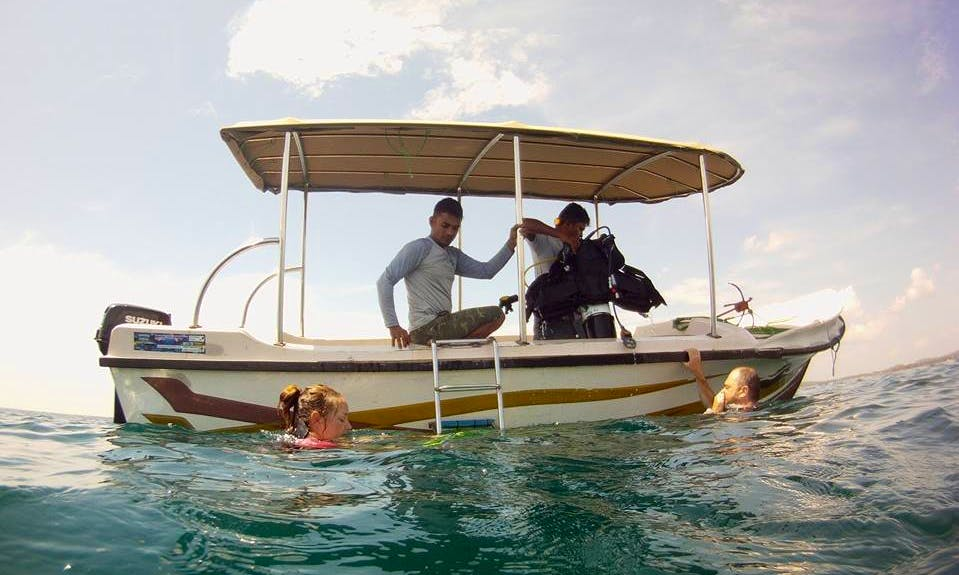 Boat Snorkeling Trips in Trincomalee