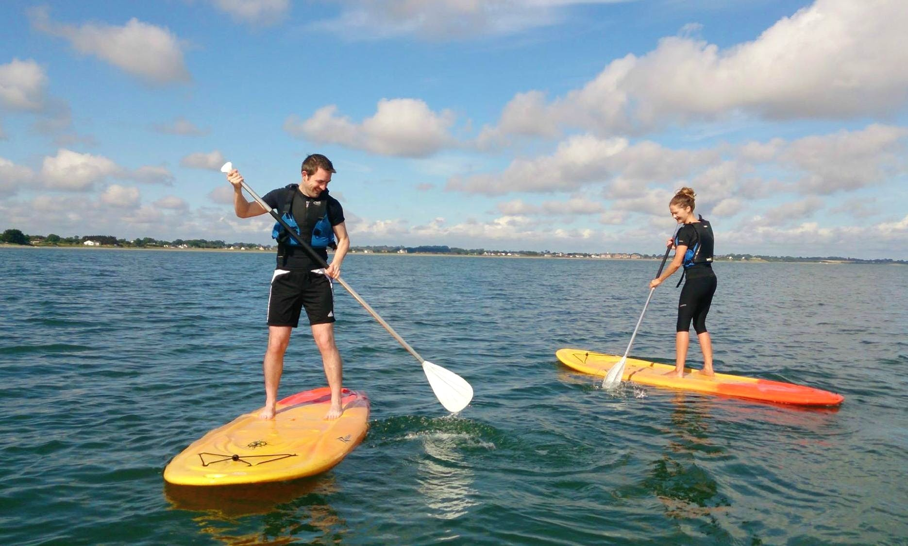 Stand Up Paddleboarding - Great Fun for All Ages in Geashill, Ireland