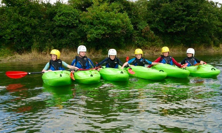 Unforgettable Kayak Adventure and Lesson in Geashill, Ireland!