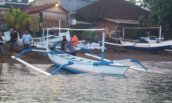 Outrigger Boat Fishing Trips In Nusa Dua