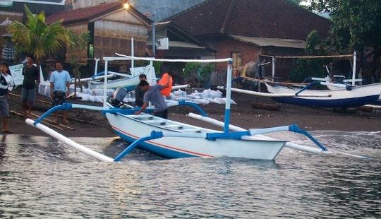 Outrigger Boat Fishing Trips In Nusa Dua