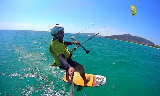 Kiteboarding In Andalucia, Spain