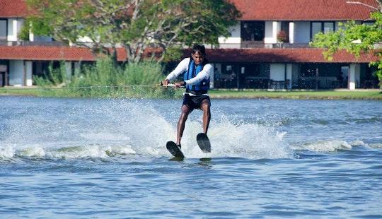 Water Skiing In Negombo