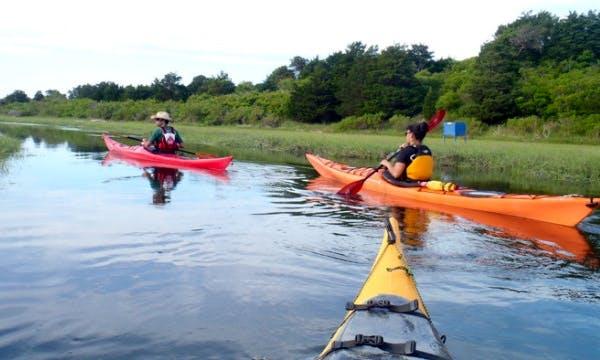 Enjoy a Single Kayak Rental in Wareham, Massachusetts