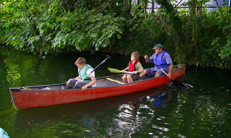 Canoe Rental in Wareham
