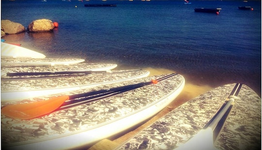 Stand Up Paddleboard Ride Tour And Rental In Gruissan, France