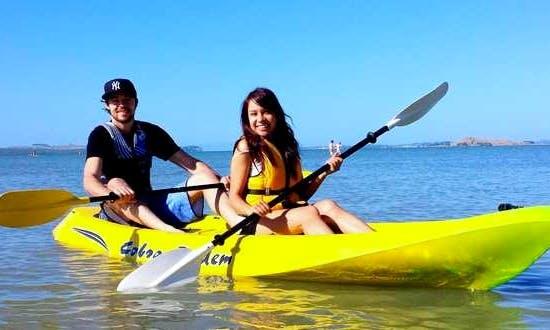 Cobra Tandem Kayak for Hire in Gruissan, Spain