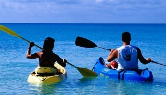 Kayak Trip To Gruissan Lake's And River With Single Sit-on-top Kayaks