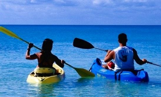 Sinlge Kayak Hire In Gruissan