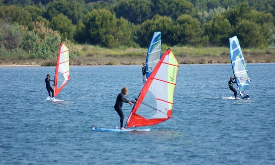 Windsurfing Lesson In Gruissan